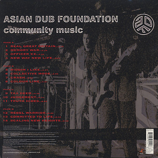 Asian Dub Foundation / Community Music back