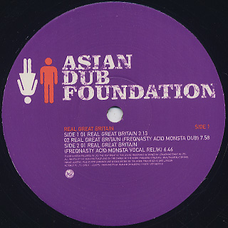 Asian Dub Foundation / Real Great Britain label