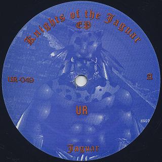 Aztec Mystic A.K.A DJ Rolando / Knights Of The Jaguar EP