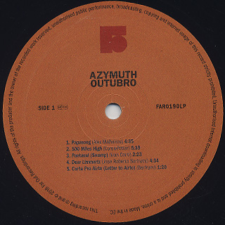 Azymuth / Outubro label