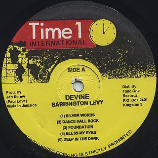 Barrington Levy / Divine label