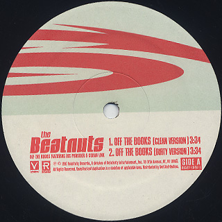 Beatnuts / Off The Book label