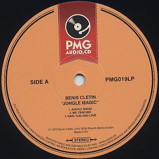 Benis Cletin / Jungle Magic label
