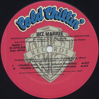 Biz Markie / Young Girl Bluez label