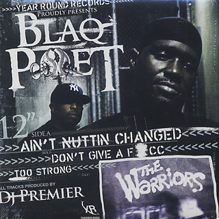 Blaq Poet / Ain't Nuttin Changed front