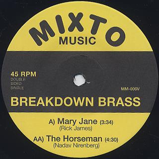 Breakdown Brass / Mary Jane