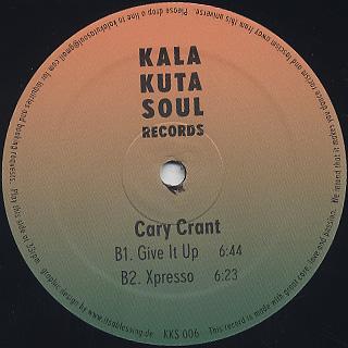 Cary Crant / Get Dancin' label