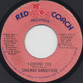 Chicago Gangsters / I Choose You(45)