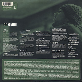 Common / Like Water For Chocolate (2LP) back