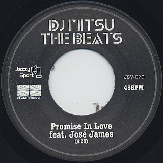 DJ Mitsu The Beats / Promise In Love label