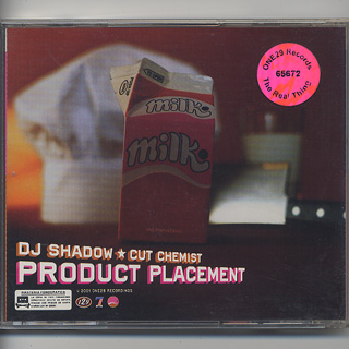 DJ Shadow & Cut Chemist / Product Placement (CD) back