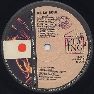De La Soul / The Best label