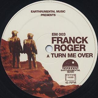 Franck Roger / Turn Me Over c/w Mind Illusions label