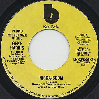Gene Harris / Higga-Boom