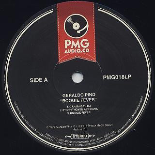 Geraldo Pino / Boogie Fever label