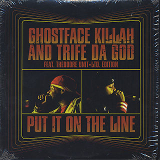Ghostface Killah And Trife / Put It On The Line front