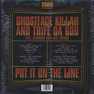 Ghostface Killah And Trife / Put It On The Line back