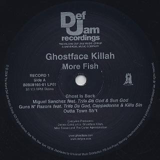 Ghostface Killah / More Fish label