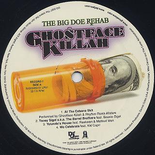 Ghostface Killah / The Big Doe Rehab label
