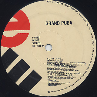 Grand Puba / I Like It back