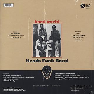 Heads Funk Band / Hard World back