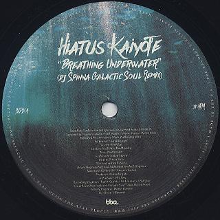 Hiatus Kaiyote / Breathing Underwater (DJ Spinna Galactic Soul Remix)