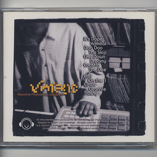 Jay Dee / Vintage: Unreleased Instrumentals (CD) back