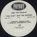 Jeru The Damaja / You Can't Stop The Prophet