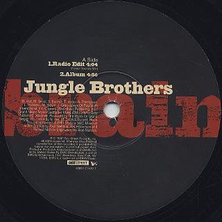 Jungle Brothers / Brain back