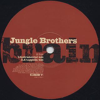 Jungle Brothers / Brain label