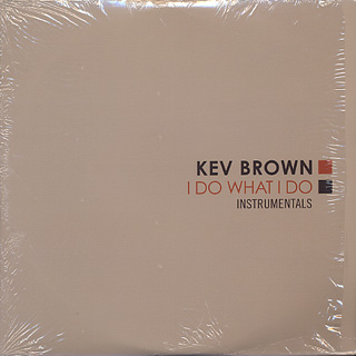 Kev Brown / I Do What I Do Instrumentals (2LP)