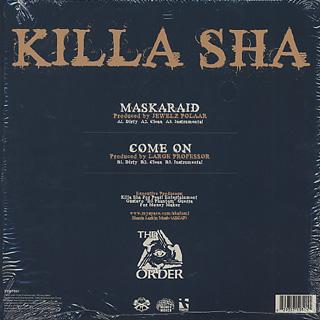 Killa Sha / Maskaraid back
