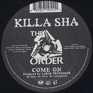 Killa Sha / Maskaraid label