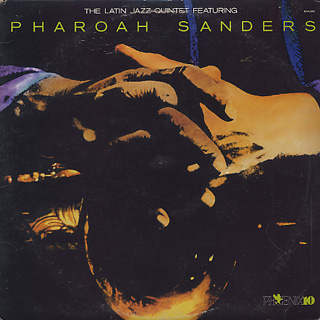Latin Jazz Quintet featuring Pharoah Sanders / S.T. front