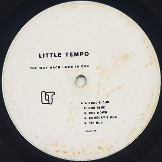 Little Tempo / The Way Back Home In Dub back