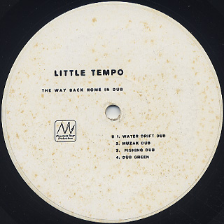 Little Tempo / The Way Back Home In Dub label