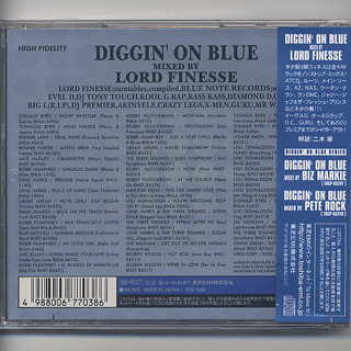 Lord Finesse / Diggin' On Blue (CD) back