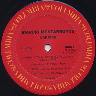 Marcio Montarroyos / Carioca label