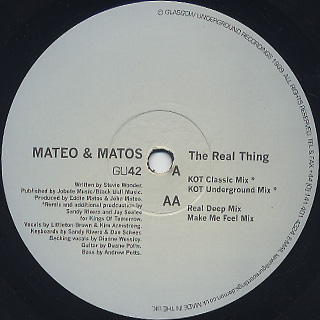 Mateo & Matos / The Real Thing