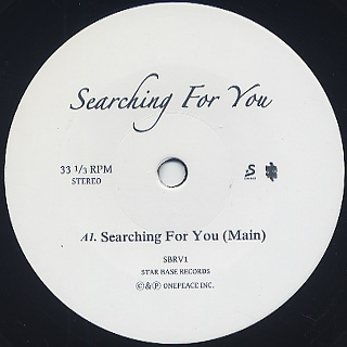 Matt Cab / Searching For You label