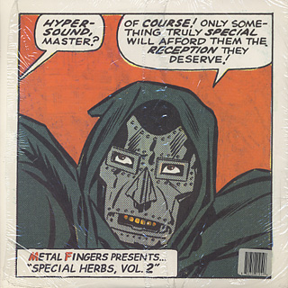 Metal Fingers / Metal Fingers Presents... Special Herbs, Vol.1 back