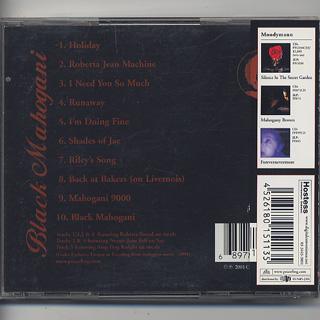 Moodymann / Black Mahogani (CD) back