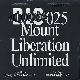 Mount Liberation Unlimited / (Eerie) For Your Love back