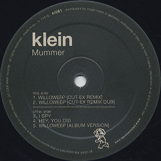 Mummer / Willoweep back
