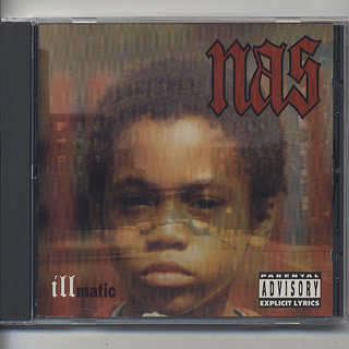 Nas / Illmatic (CD) front
