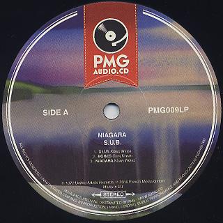 Niagara / S.U.B. label