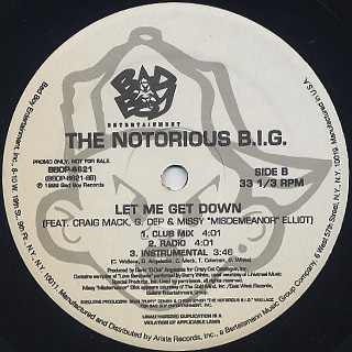 Notorious B.I.G. / Rap Phenomenon back