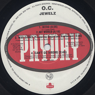 O.C. / Jewelz label