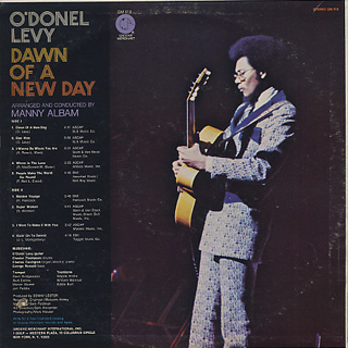 O'Donel Levy / Dawn Of A New Day back
