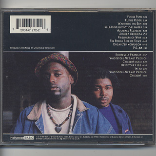 Organized Konfusion / Organized Konfusion (CD) back